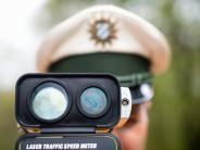 Verkehr:: Magere Ausbeute beim Blitzermarathon