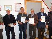 Feuerwehr: Auszeichnungen für langjährige Mitglieder