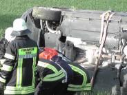 Donauwörth: Unfall auf B2: Hoher Schaden und Stau am Feierabend