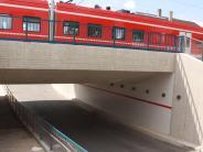 Bäumenheim: Wieder kracht es in der Bahnunterführung
