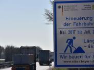 Mertingen/Nordendorf: Auf der B2 wird wieder gebaut