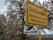 Harburg-Großsorheim: Kommt die Zone 30 in Großsorheim?