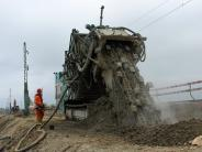 Fünfstetten: Millionen für einen sicheren Bahndamm