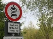 Bäumenheim-Hamlar: Fahrverbot soll Nacktbader am Baggersee in Hamlar aufhalten