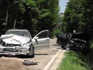 Huisheim-Gosheim: Doppelter Totalschaden bei schwerem Unfall
