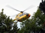Kreis Donau-Ries: Verletzter Rentner wartet eineinhalb Stunden auf Hilfe