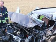 Polizei: Schwerverletzte bei zwei Unfällen im Ries