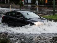 Hochwasser: Dauerregen: Bilder vom Wetterchaos in Deutschland