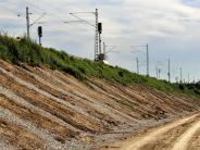 Projekt: Bahndamm-Baustelle ist abgeschlossen