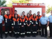 Feuerwehr: Sieben Kameraden schaffen Abzeichen