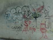 Rain: Drei Graffitischmierereien richten Schaden an