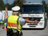 Polizei: Jeder siebte kontrollierte Lastwagen dürfte so nicht auf der Straße fahren