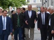 Politik: Herrmann: Vorbild Donau-Ries-Kreis