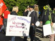 Donauwörth: Nach Protest vor AfD-Veranstaltung spricht Alice Weidel doch