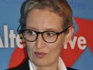 Donauwörth: Nach Tumulten: So lief der Auftritt von AfD-Frau Alice Weidel
