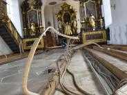 Otting: Nach der Flut: Eine Kirche ohne Bänke
