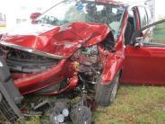 Tapfheim: Auto kracht gegen Baum: 59-Jährige schwer verletzt