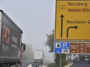 Monheim: Die B2 wird erneut zur Baustelle