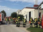 Bäumenheim-Hamlar: Feuer in Kräuterfabrik richtet hohen Schaden an