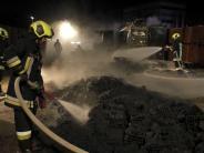 Rain: Größeres Feuer auf dem Gelände einer Firma