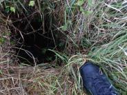 Harburg-Ebermergen/Donauwörth: Mann bricht in Biberhöhle ein und verletzt sich