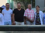 Mertingen: Amerikaner trifft seinen Lebensretter aus Mertingen