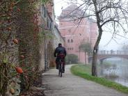 Donauwörth: Radeln bis Budapest:kleines Stück Weg fehlt inDonauwörth