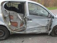 Tapfheim-Erlingshofen: Auto gerät auf B16 auf Gegenfahrbahn: Unfall