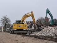Donauwörth: Kaserne: Übrig bleiben Schutthaufen