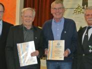 Feier: Langjährige Mitglieder ausgezeichnet