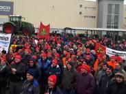 Bäumenheim: Warnstreiks erreichen den Landkreis