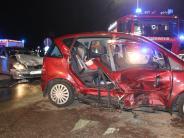Alerheim: Unfall: Vater und seine zwei Kinder schwer verletzt