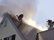 Oberndorf: Feuer: Großer Schaden an Wohnhaus