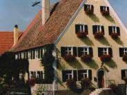 Harburg-Heroldingen: Wirtschaft, Schule, Dorfmittelpunkt