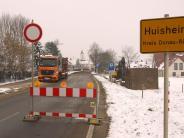 Huisheim: Ortsdurchfahrt ist jetzt für lange Zeit gesperrt