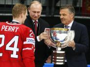 Eishockey: Putin gibt sich die Ehre - Kanada feiert Titel in Russland