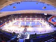 """Eishockey: Mannheim gewinnt DEL-""""Winter Game"""" vor über 25.000 Zuschauern"""