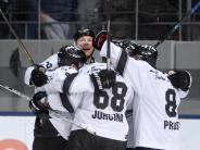 Last-Minute-Sieg: Nürnberg Ice Tigers gewinnen Spitzenspiel beim EHC München
