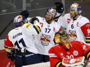 Eishockey-Königsklasse: EHCMünchen vor Viertelfinal-Einzug - Mannheim verliert