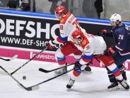 Eishockey: Deutschland Cup: Russland besiegt USA nach Rückstand