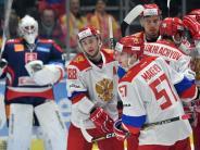 Sieg gegen Slowakei: Russisches Eishockey-Team gewinnt DeutschlandCup