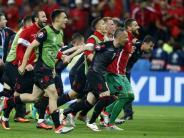 Fußball: Historische Chance für Albanien nach 1:0-Sieg gegen Rumänien