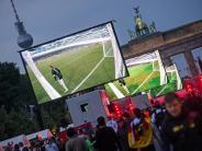 Fußball-EM: EM-Euphorie sieht anders aus - wenig Begeisterung beim Public Viewing