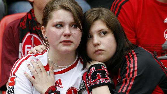 Liebe club fans liebe verlierer