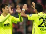 FC Augsburg: Ji weiter angeschlagen - Hinteregger spielt wohl mit Maske