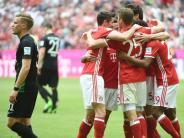 """FC Bayern gegen FC Augsburg: """"Demütigende Niederlage"""": Die Pressestimmen zum 0:6-Debakel"""