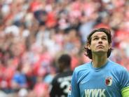 FC Augsburg: Marwin Hitz fehlt dem FCA beim Endspiel gegen Hoffenheim