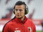 FC Augsburg: Schrecksekunde: Raúl Bobadilla verletzt sich im Training