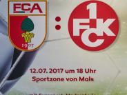 Testspiel: FC Augsburg gegen 1. FC Kaiserslautern heute live im Stream