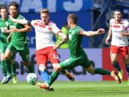 """FC Augsburg: Pressestimmen zum FCA-Spiel: """"Der HSV zittert sich zum Sieg"""""""